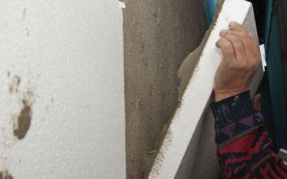 Как клеить пенопласт на стены: рекомендации