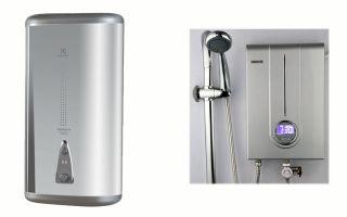 Какой водонагреватель выбрать для дома: накопительный, проточный?