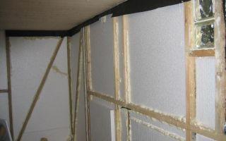 Можно ли утеплить дом пенопластом изнутри: плюсы, минусы