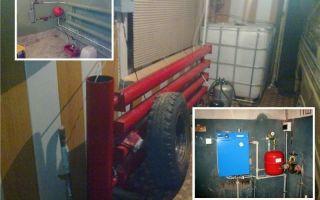 Отопление гаража своими руками (фото и видео)