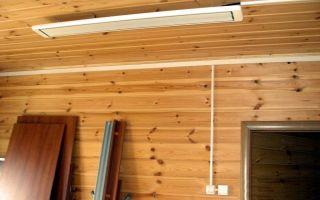 Как выбрать потолочные инфракрасные обогреватели: классификация