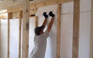 Утепление стен изнутри пенопластом своими руками