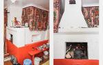 Чем покрасить печь в доме: технология работ