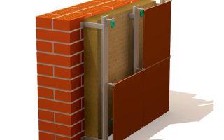 Утепление фасадов зданий: технологии мокрого и вентилируемого фасада