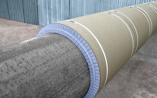 Монтаж теплоизоляции трубопроводов: материалы