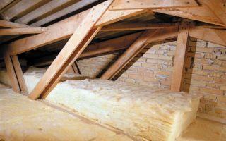 Как утеплить крышу бани: способы
