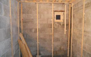 Утепление кирпичной бани изнутри (фото и видео)