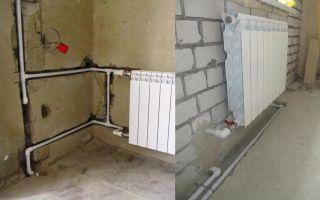 Как спрятать трубы отопления в квартире или частном доме: способы (фото и видео)