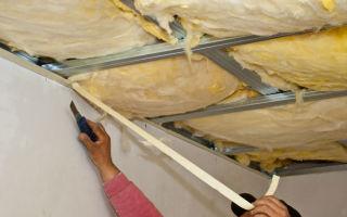 Утепление потолка минватой и пенопластом (фото и видео)
