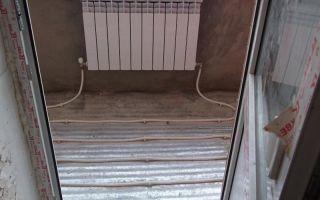 Отопление на балконе своими руками — виды приборов (фото и видео)