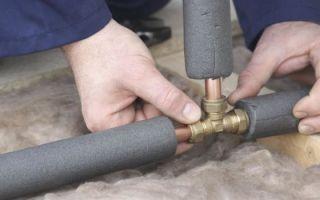 Как утеплить водопроводные трубы в частном доме: работы и материалы