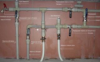 Монтаж системы отопления из полипропилена: инструменты, правила