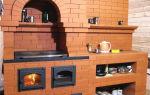 Кирпичные печи для дома: основные виды