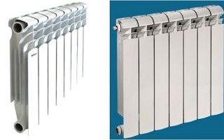 Отличие алюминиевых радиаторов от биметаллических: выбор батарей