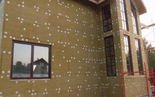 Как утеплить фасад дома минватой: материалы, инструменты