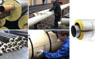 Теплоизоляция трубопроводов скорлупами: характеристики материала, монтаж