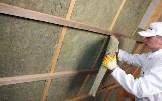 Утеплитель для стен внутри дома: выбор материалов