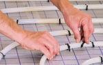 Крепление труб теплого пола: как выбрать крепеж для пола
