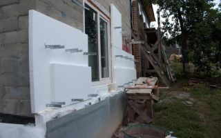 Утепление стен снаружи пенопластом под сайдинг правильно
