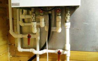 Подключение настенного газового котла к системе отопления своими руками