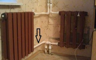 Замена чугунных батарей в ванной своими руками