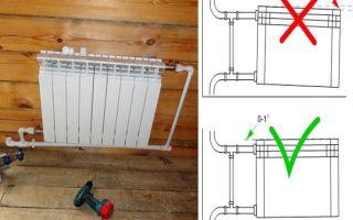 Правила установки радиаторов отопления, инструменты, материалы