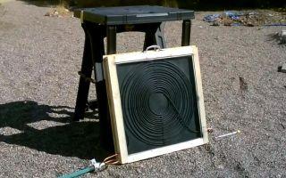 Солнечный нагреватель воды своими руками: как сконструировать?