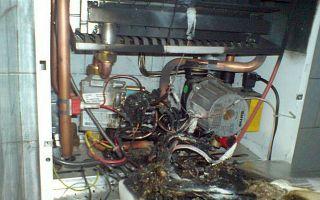 Ремонт газового котла настенного: причины неисправностей