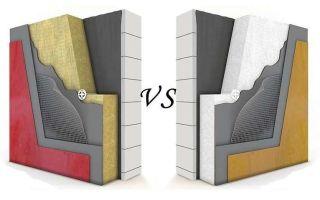 Выбор утеплителя для стен: минвата, пенопласт, пеностекло