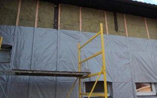 Утепление стен снаружи минватой под сайдинг — монтаж