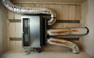 Воздушное отопление коттеджа своими руками: расчет, монтаж (фото и видео)