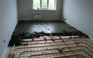 Теплый водяной пол в квартире: этапы заливки