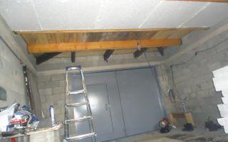 Как утеплить потолок в гараже: материалы, инструменты, варианты