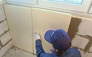 Утепление стен изнутри пенополистиролом: монтаж