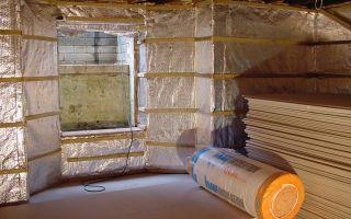 Утепление частного дома: утепляем окна, стены, пол и потолок