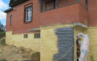 Утепление фасада пенополиуретаном: инструменты, материалы, этапы