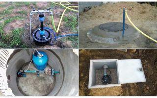 Как утеплить скважину на зиму своими руками: инструменты, материалы, рекомендации (фото и видео)
