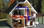 Отопление деревенского дома: проектирование и установка