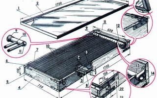 Солнечный коллектор своими руками: этапы изготовление