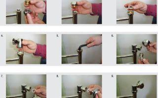 Установка полотенцесушителя: инструкция (фото)
