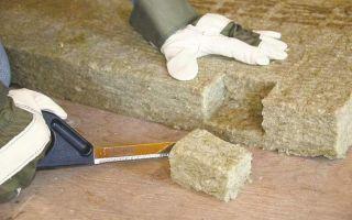 Чем резать базальтовый утеплитель и как его укладывать на поверхность?