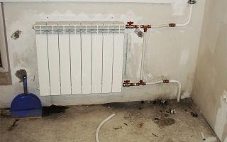 Установка алюминиевых радиаторов своими руками