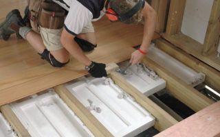 Утепление пола в деревянном доме пенопластом своими руками
