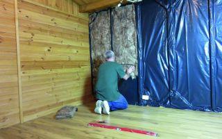 Утепление стен деревянного дома изнутри (фото и видео)