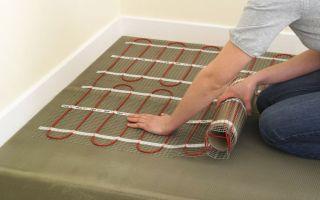 Электрический теплый пол под плитку своими руками: материалы и монтаж (видео)