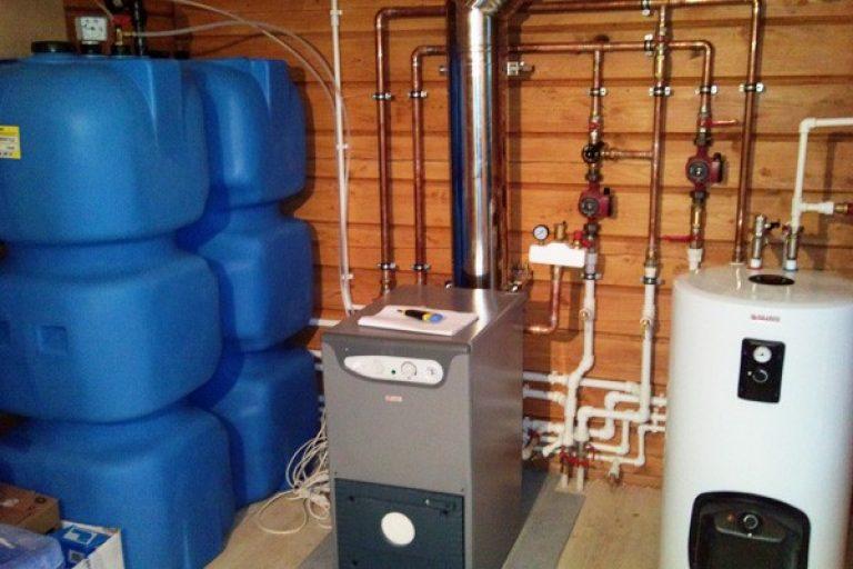 дизельный котел отопления частного дома