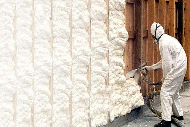 Пена для утепления стен - разновидности характеристики особенности применения